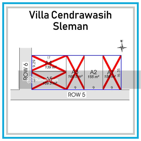 Dekat pemda Sleman, kapling tanah luas 155 m2, sertifikat siap ajb di Yogyakarta. #105416488