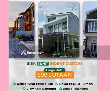 Dijual - ALL-IN Terakhir Rumah Komplek 2 Lantai Sariwangi Cihanjuang Bandung Barat Sejuk dekat Tol
