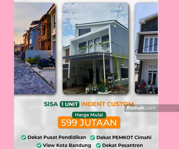 ALL-IN Terakhir Rumah Komplek 2 Lantai Sariwangi Cihanjuang Bandung Barat Sejuk dekat Tol #105472314