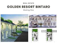 Dijual - Cluster Golden Resort Bintaro Sektor 7 kebayoran Arcde Bebas Banjir