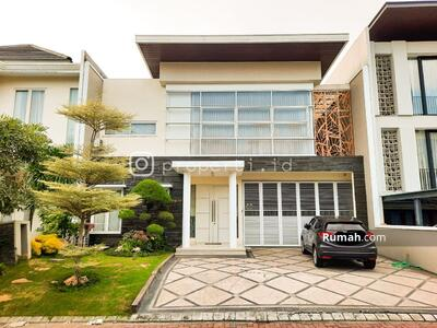 Dijual - JUAL Rumah Mewah Minimalis Imperial Beach Pakuwon City Surabaya Timur