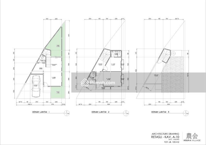 Dijual Rumah Baru Desain Jepang Nouka Village Cisarua Lembang Bandung #105564314
