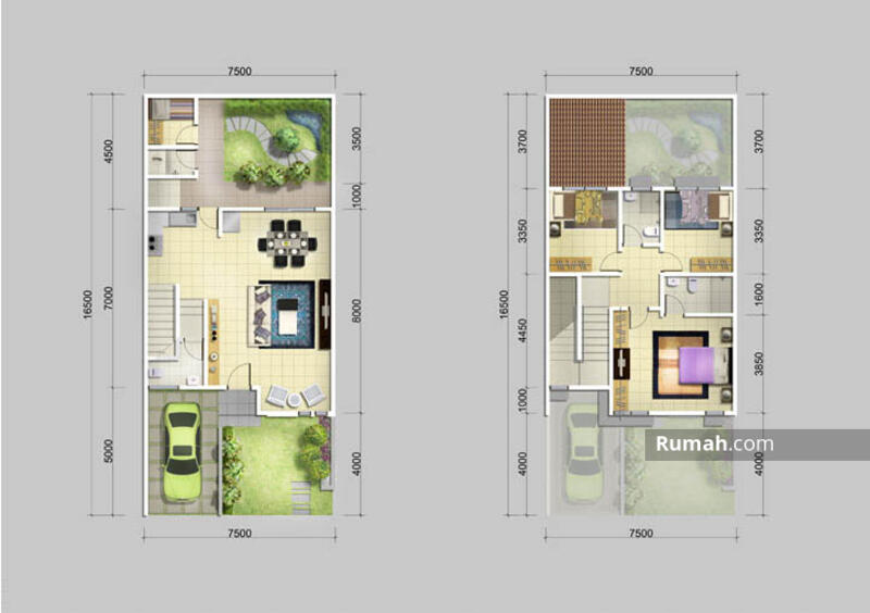 RECOMMENDED Rumah 2 Lantai 7,5x17 type 3KT di Cluster Alamanda JGC Jakarta Garden City #107133934