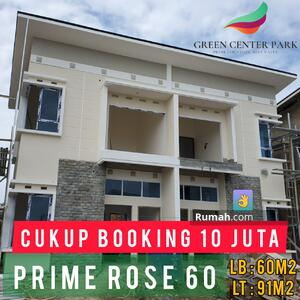 Dijual - Townhouse Murah Green Center Park Palembang