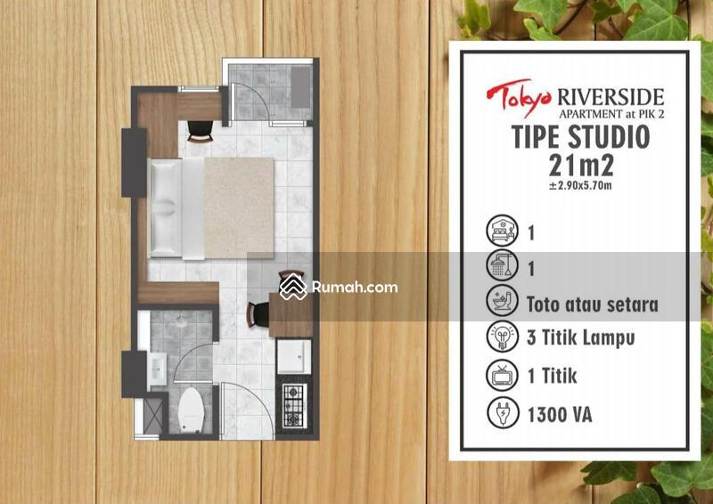 Di Jual Apartemen Tokyo Riverside PIK 2, Tipe Studio, Harga TERMURAH!!! #105594168