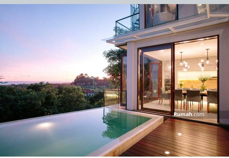 Gry 012- dijual villa mewah berlokasi di ungasan dengan view yang sangat menarik #105629542
