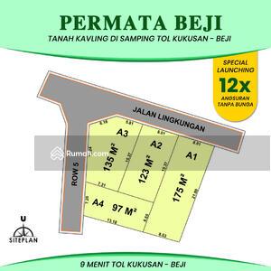 Dijual - Di Jual Tanah Kavling Beji  Depok, Nempel Universitas Indonesia