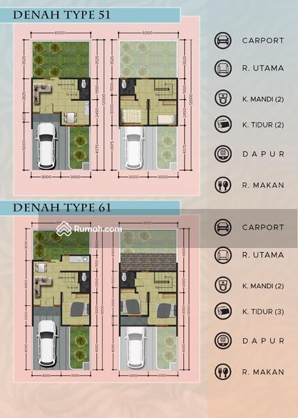 Rumah modern bali Grand tabebuya cimanggis #105757320