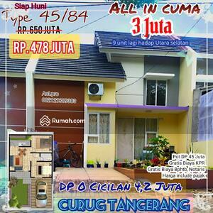 Dijual - Curug Ready 45/84 Ciciln 4 jt, jl raya Curug km 4 Tangerang