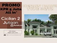 Dijual - Rumah Murah, Cicilan 2jutaan lokasi sekitaran Tangerang Selatan