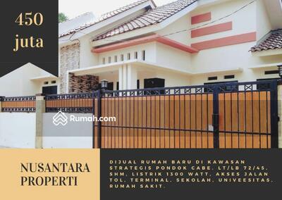 Dijual - Rumah Kavling Pondok Cabe