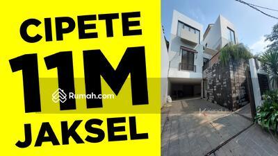 Dijual - RUMAH MINIMALIS CIPETE JAKSEL (DEKAT KEMANG & ANTASARI) DESIGN BY KIAT ARCHITECTS