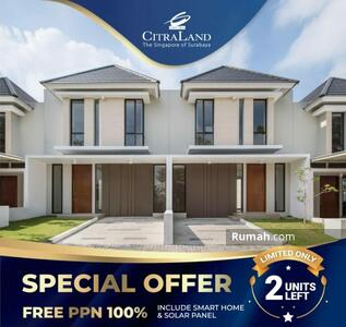 Dijual - Citraland Taman Puspa Raya dekat GWalk, Konjen, JLLB, Pakuwon Mall Surabaya Barat