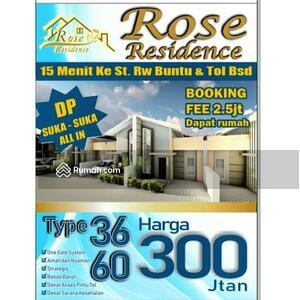 Dijual - Rumah Dijual type 36 Rose Residence