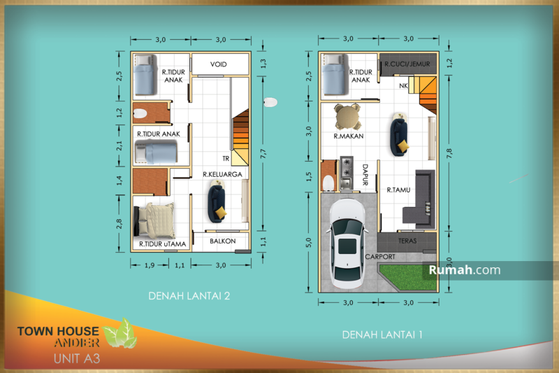 Andir Town House #106071426