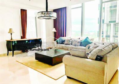 Dijual - Dijual Cepat BU Apartemen Senopati Suites 3 BR Luas 300 m2 Fully Furnished