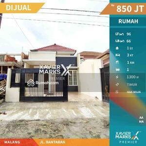Dijual - Dijual Rumah Modern Jalan Bantaran Lowokwaru
