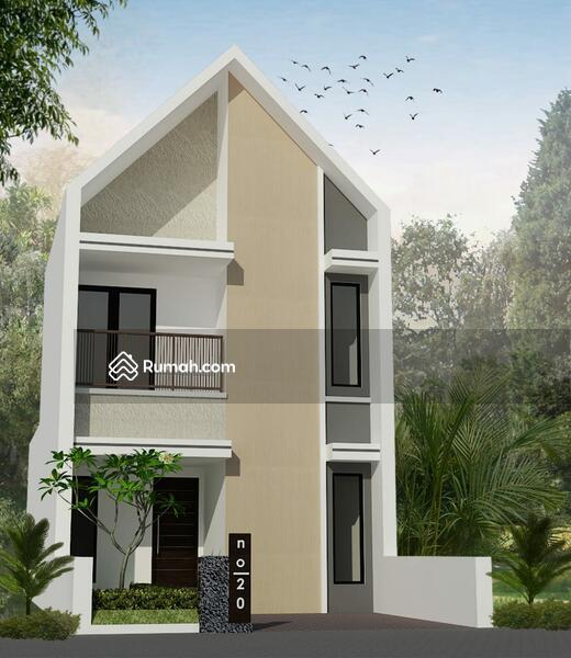 Beli Rumah 2 Lantai di Komplek Asri Kawasan Sejuk di Cihanjuang Rahayu Bandung Utara Strategis #106154674
