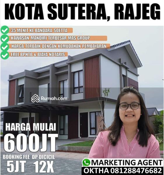 Dijual Rumah Minimalis Di Cluster Alibizia Kota Sutera, Cadas Kukun #106158656