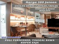 Dijual - Dijual Murah Apartemen Fully Furnish Di Jakarta Selatan Harga 300 Jutaan  Dekat Pondok Indah & MRT