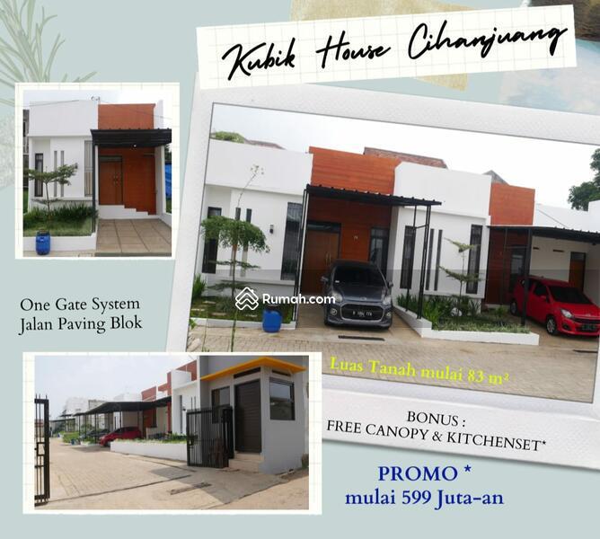 Rumah Promo Unit Custom Model Kubik Minimalis Modern di Bandung Utara Sejuk Asri Strategis #106207296