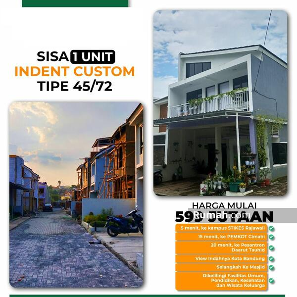 1 Unit Last Edition Custom Free Desain Hunian 2 Lantai Promo ALL-IN dkt Wisata Lembang Bandung #106210856