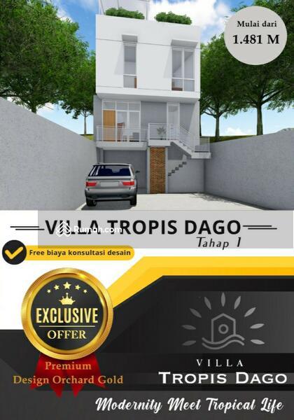 Gold Type Rumah Hook di Cluster Villa Dago Ekslusif Lokasi Strategis Nyaman #106237532