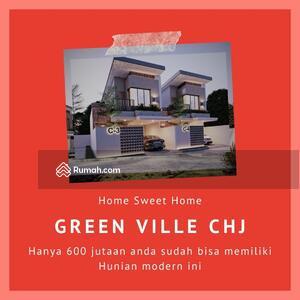 Dijual - Promo Rumah 2 Lantai Green Ville Cicilan Dekat Borma Cihanjuang