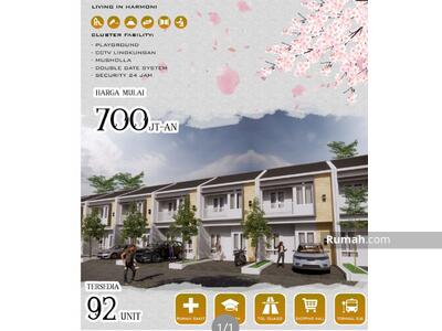 Dijual - 2 Bedrooms Rumah Sukma Jaya, Depok, Jawa Barat