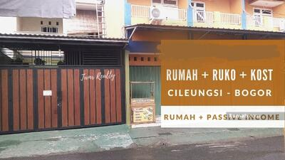 Dijual - Rumah Dijual Di Cileungsi Bogor Plus Ruko Plus Kos kosan