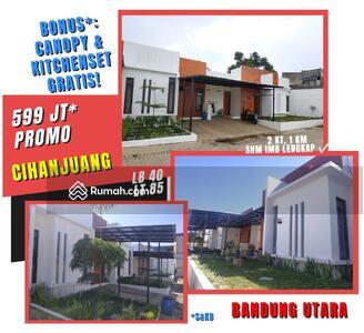 Dijual - Rumah Milenial Bandung Utara PROMO 599Jt Tanah Luas Lokasi Sejuk Akses Tol