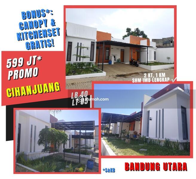 Rumah Milenial Bandung Utara PROMO 599Jt Tanah Luas Lokasi Sejuk Akses Tol #106308802