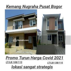 Dijual - Rumah murah Bogor Kemang siap huni dekat St bogor