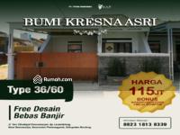 Dijual - Rumah murah & berkualitas di Bandung, 2 Kamar tidur, Bonus Kanopi