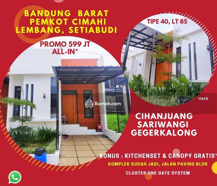 Miliki Properti Bandung Utara Bonus Canopy Kitchenset Gratis Dekat Tol Pasteur Strategis #106368912