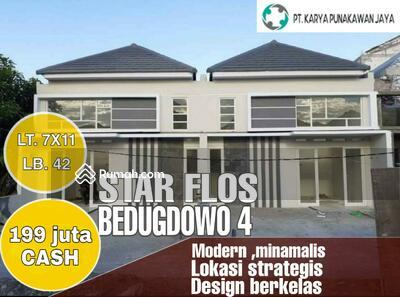 Dijual - Rumah Murah Sidoarjo Starflos bedugdowo CANDI 199 juta cash