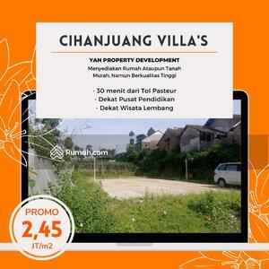 Dijual - Investasi Semakin Naik Ambil Cash Tanah Cihanjuang Harga 3Jt/m2