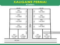 Dijual - TERMURAH: Tanah Kapling 800-ribuan di Kaligawe, Klaten