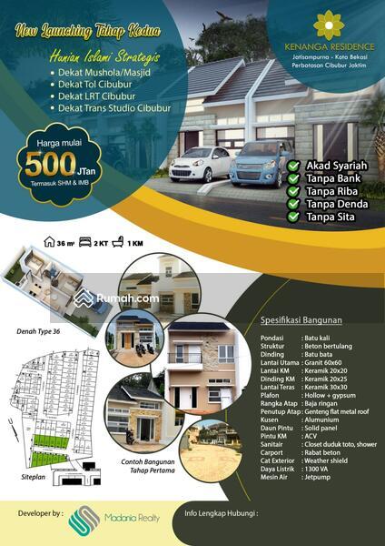 Cluster kenanga Residence lokasi strategis akses 2 mobil #106458940