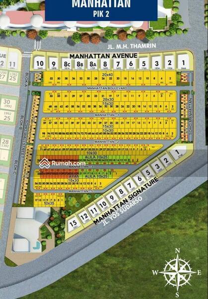 DIJUAL Kavling Manhattan PIK2. Uk 15x30. Cicilan Panjang !! #106481310