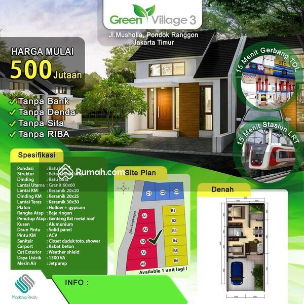 Rumah syariah Green village 3 murah cipayung #106487936