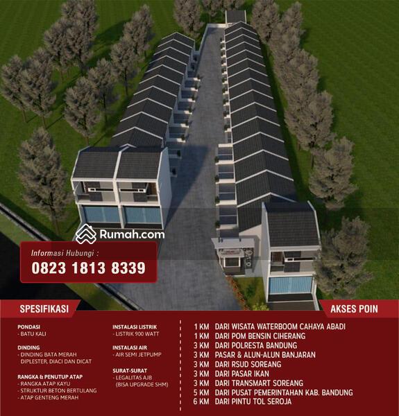 Jual Rumah murah & berkualitas di Bandung #106501870