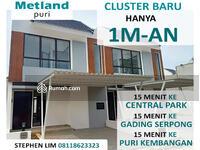 Dijual - Rumah di Jakarta Barat Cicilan 10 Jt an Cluster Oxalis Metland Puri