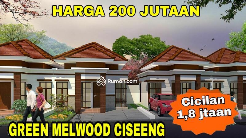 DP 0% Cicilan 1,8 jutaan harga 200 jutaan di Green Melwood Ciseeng Bogor #106544118