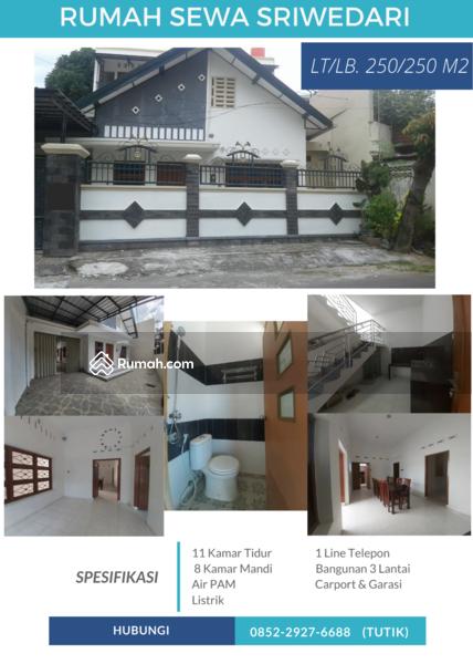 Rumah Sewa Sriwedari #106982954