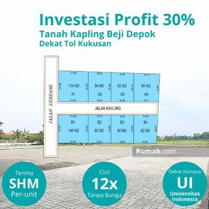 Dijual - Harga Promo Launching Tanah Kavling Depok Dekat Tol Kukusan