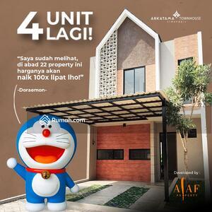 Dijual - Alaf Property project D'East Townhouse & Arkatama Townhouse