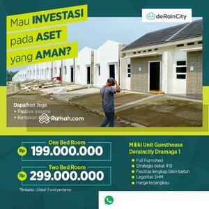 Dijual - Deraincity Dramaga - Investasi Guesthouse Full Furnished Dekat IPB