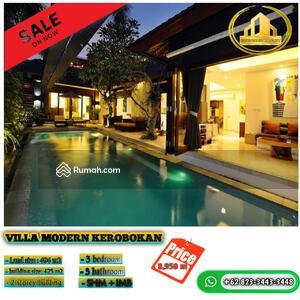 Dijual - Villa modern Kerobokan |  3 bedroom | land 494