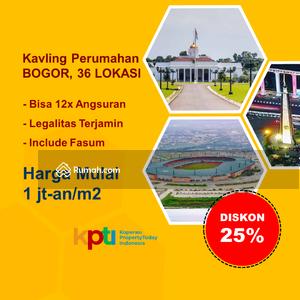 Dijual - Hanya 1 Juta-an Dekat Kampus IPB. Tanah Kavling Hunian, Kost, Invest!